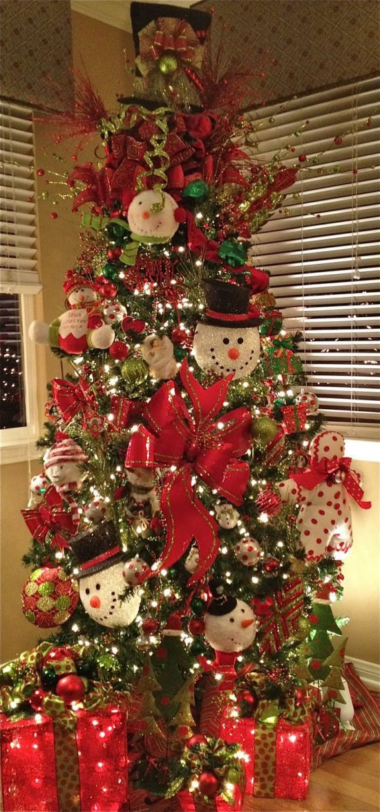 Christmas tree decorating themes for this year interior for 12 days of christmas decoration theme