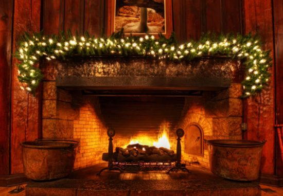 Christmas Decorated Fireplace Screensaver : Christmas fireplace decorations this year for more elegant