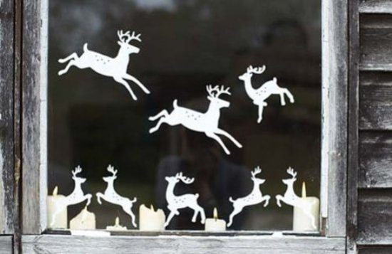 Stylish ideas to decorate your windows for the Christmas this year