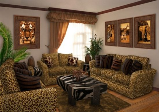 5 ideas to decorate your home with zebra print for Zebra decorations for home