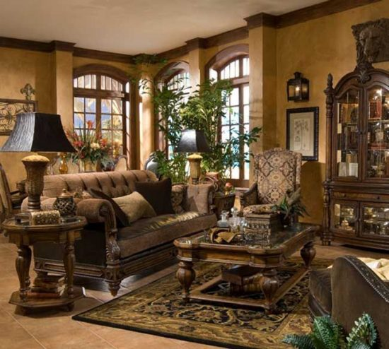 Tuscan furniture what your mother never told you for Tuscan interior designs