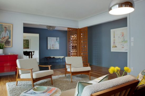 modern paint colors living room. Mid-Century Modern Paint \u2013 How These 5 Colors Can Change Your Life Living Room
