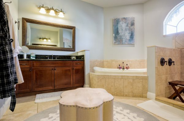 bathroom decorating ideas and designs Remodels Photos A.Clore Interiors Sanford Florida United States contemporary-bathroom