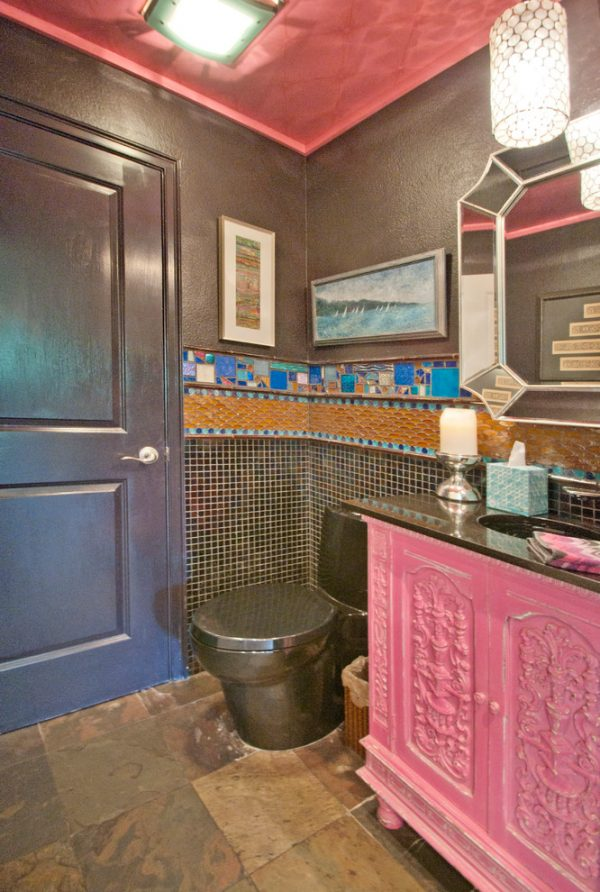 bathroom decorating ideas and designs Remodels Photos A.Clore Interiors Sanford Florida United States eclectic-bathroom