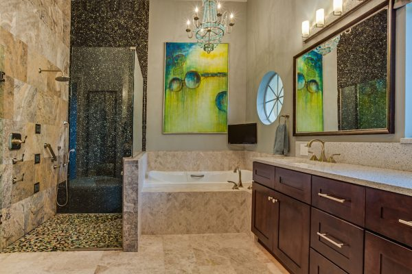 bathroom decorating ideas and designs Remodels Photos A.Clore Interiors Sanford Florida United States rustic-bathroom