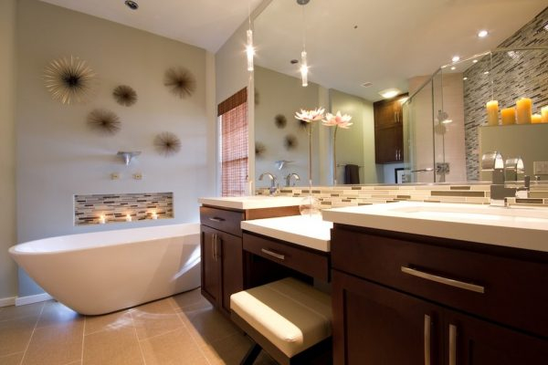 bathroom decorating ideas and designs Remodels Photos AB Design Elements, LLC Scottsdale Arizona United States contemporary-bathroom