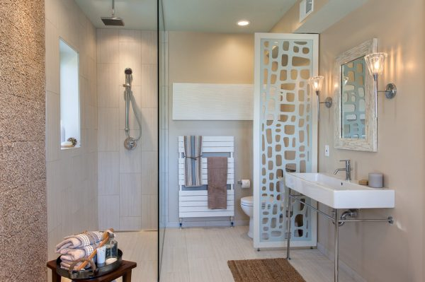 bathroom decorating ideas and designs Remodels Photos ART Design Build Bethesda Maryland United States beach-style-bathroom