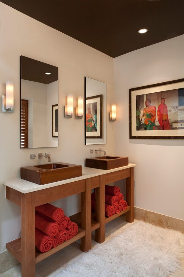 bathroom decorating ideas and designs Remodels Photos ART Design Build Bethesda Maryland United States contemporary-bathroom