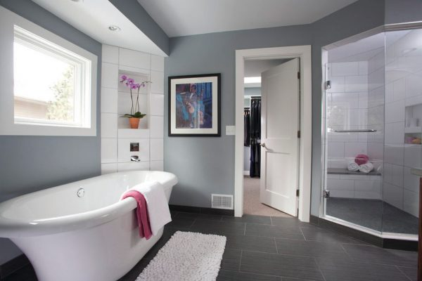 bathroom decorating ideas and designs Remodels Photos Anna Berglin Design Saint Louis Park Minnesota United States contemporary-bathroom