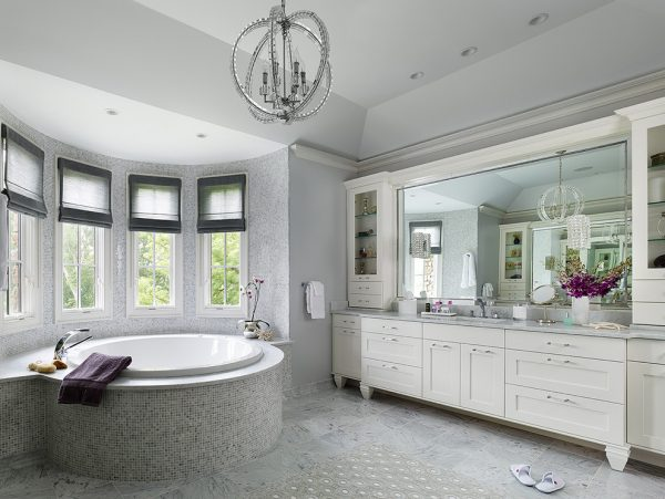 bathroom decorating ideas and designs Remodels Photos Anthony Albert Studios Waldwick New Jersey United States transitional-bathroom