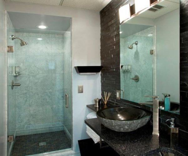 bathroom decorating ideas and designs Remodels Photos Architectural Ceramics, Inc Rockville Maryland United States contemporary-bathroom-001