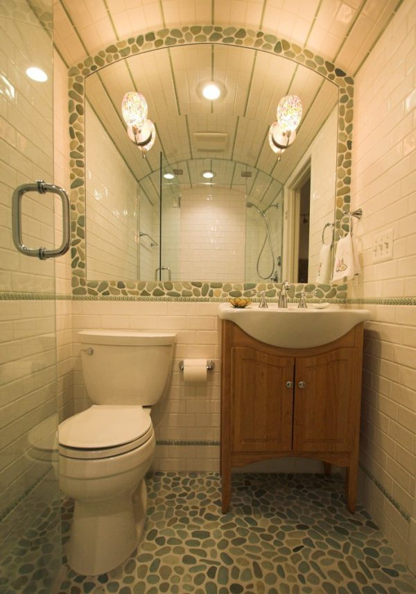 bathroom decorating ideas and designs Remodels Photos Architectural Ceramics, Inc Rockville Maryland United States transitional-bathroom