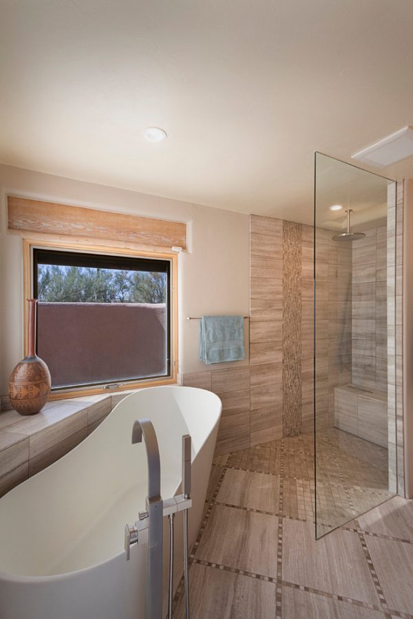 bathroom decorating ideas and designs Remodels Photos Arizona Designs Kitchens and Baths Tucson Arizona United States contemporary-bathroom-003