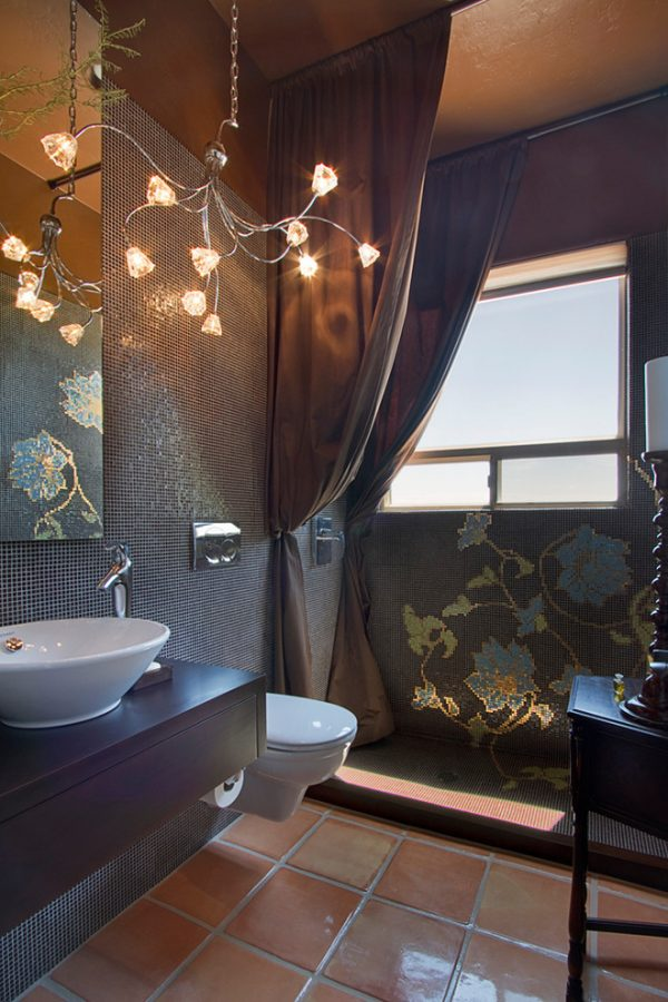 bathroom decorating ideas and designs Remodels Photos Arizona Designs Kitchens and Baths Tucson Arizona United States contemporary-bathroom