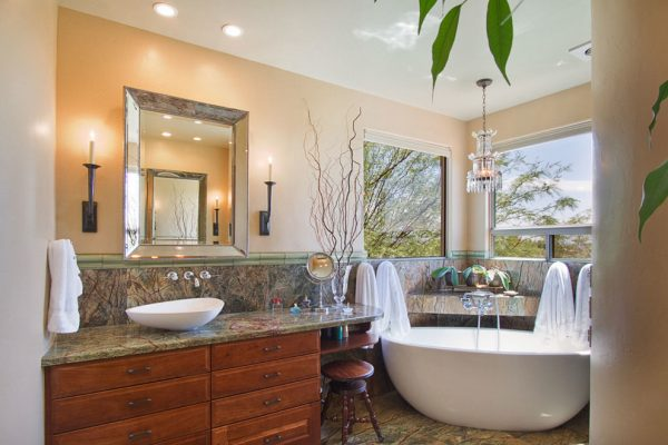 bathroom decorating ideas and designs Remodels Photos Arizona Designs Kitchens and Baths Tucson Arizona United States modern-bathroom