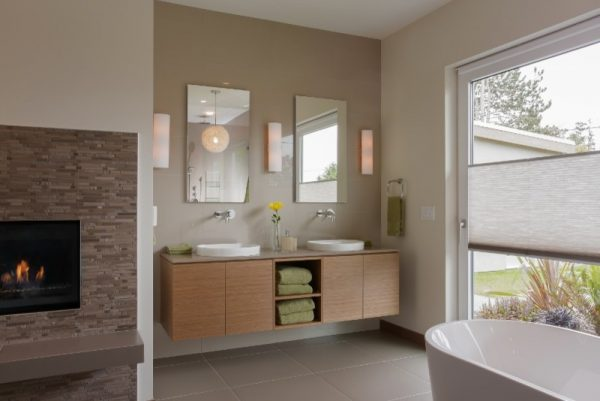 bathroom decorating ideas and designs Remodels Photos Armadio Kitchen & Bath Ltd. Surrey British Columbia United States contemporary-bathroom-001