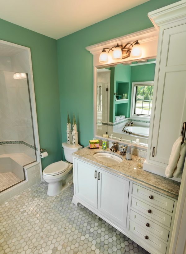 bathroom decorating ideas and designs Remodels Photos Ascent Custom Homes Waukesha Wisconsin United States bathroom