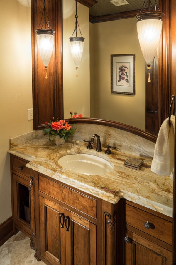 bathroom decorating ideas and designs Remodels Photos Ascent Custom Homes Waukesha Wisconsin United States powder-room