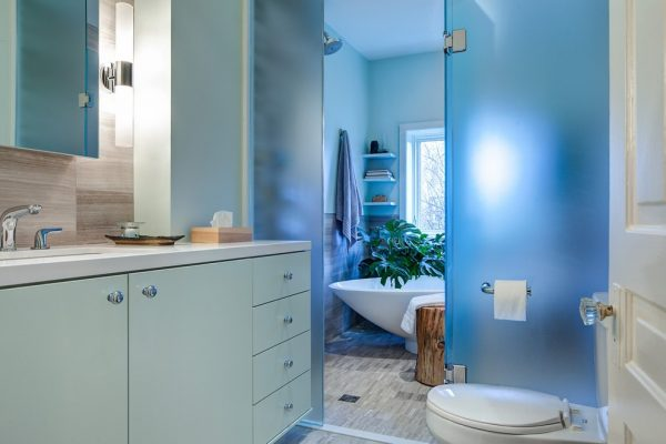 bathroom decorating ideas and designs Remodels Photos Beauparlant Design inc Toronto Ontario, Canada United States contemporary-bathroom