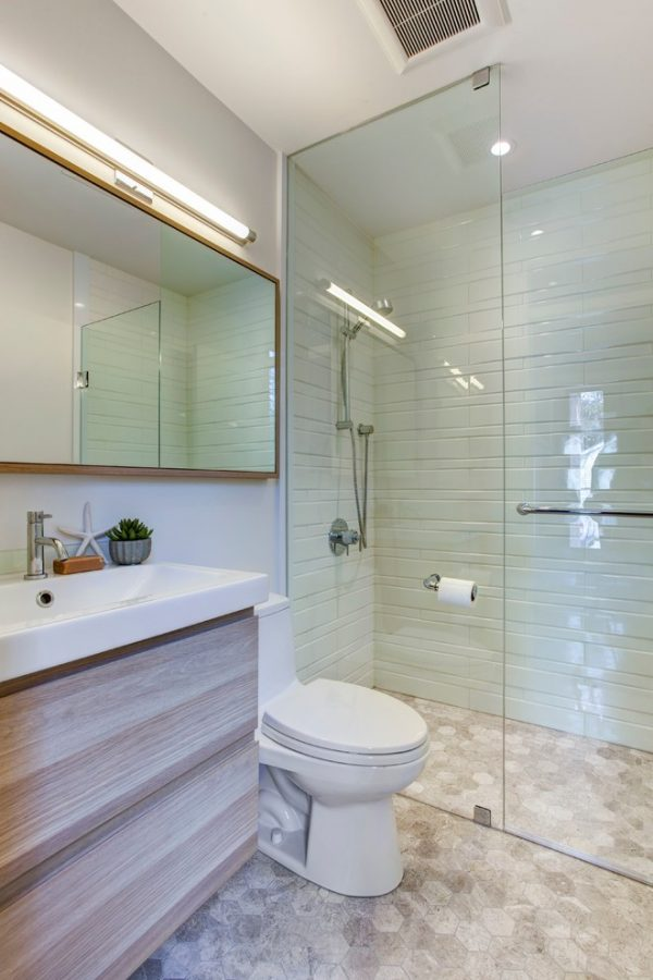 bathroom decorating ideas and designs Remodels Photos Beauparlant Design inc Toronto Ontario, Canada United States transitional-bathroom