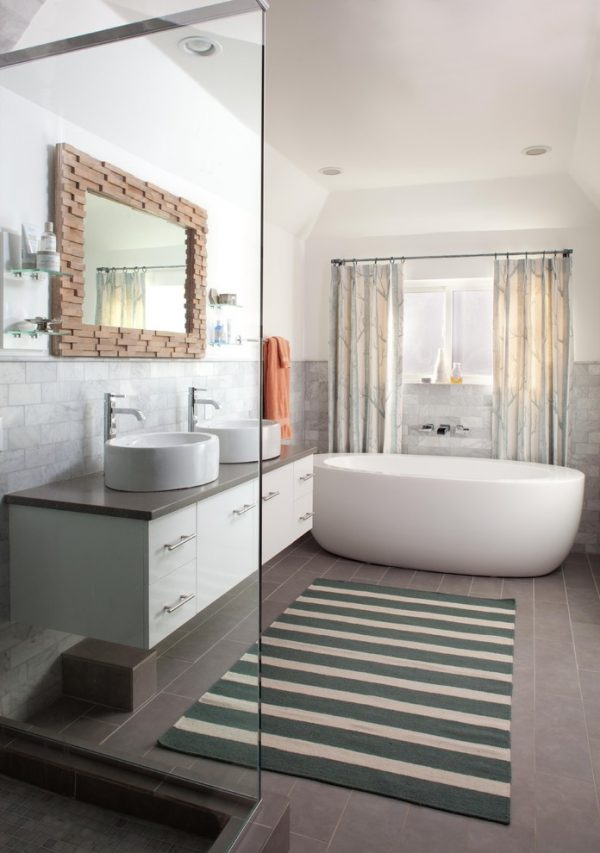 bathroom decorating ideas and designs Remodels Photos ashley campbell interior design Denver Colorado United States eclectic-bathroom
