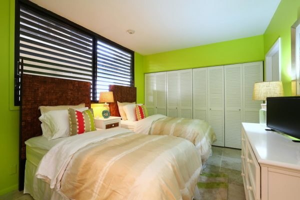 bedroom decorating ideas and designs Remodels Photo Chic on the Cheap Sarasota Florida United States beach-style-003