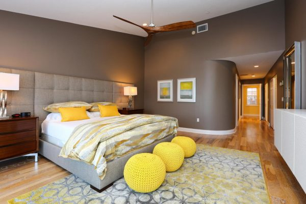 bedroom decorating ideas and designs Remodels Photo Chic on the Cheap Sarasota Florida United States contemporary-bedroom-006