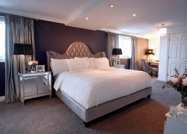 bedroom decorating ideas and designs Remodels Photo LUX Design Toronto Ontario,Canada bedroom