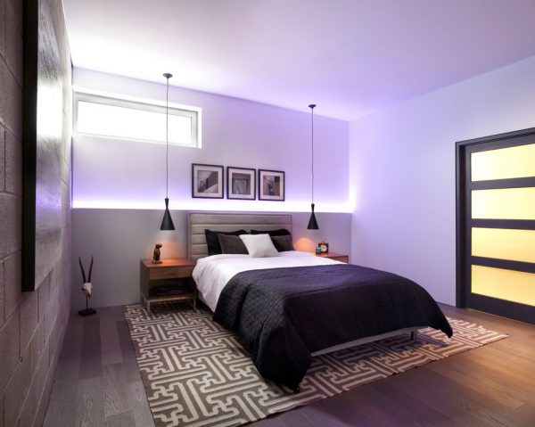 bedroom decorating ideas and designs Remodels Photo LUX Design Toronto Ontario,Canada modern