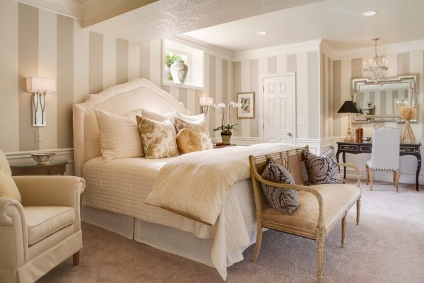 bedroom decorating ideas and designs Remodels Photo McCroskey Interiors Loch Lloyd Missouri United States traditional-bedroom-001