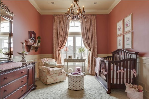 bedroom decorating ideas and designs Remodels Photo McCroskey Interiors Loch Lloyd Missouri United States traditional-nursery-002