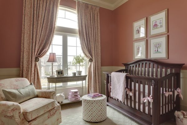 bedroom decorating ideas and designs Remodels Photo McCroskey InteriorsLoch Lloyd Missouri United States traditional-nursery