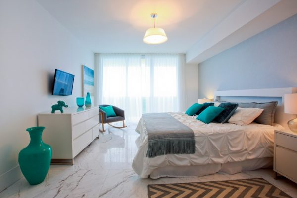 bedroom decorating ideas and designs Remodels Photos 2id Interiors Miami Florida United States beach-style-bedroom
