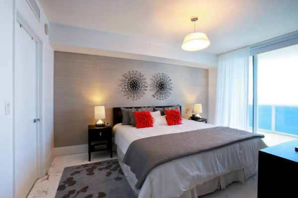 bedroom decorating ideas and designs Remodels Photos 2id Interiors Miami Florida United States contemporary-bedroom-007