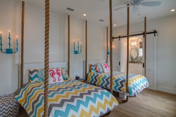 bedroom decorating ideas and designs Remodels Photos 30A Interiors Santa Rosa Beach Florida United States beach-style-kids
