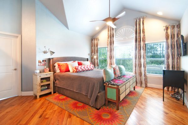 bedroom decorating ideas and designs Remodels Photos A.Clore Interiors Sanford Florida United States eclectic-bedroom-002