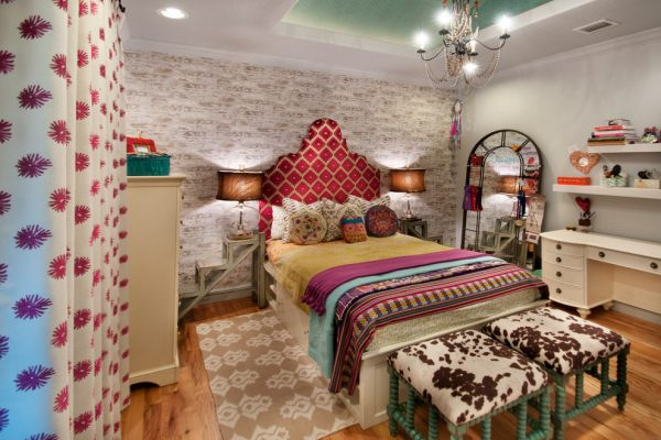 bedroom decorating ideas and designs Remodels Photos A.Clore Interiors Sanford Florida United States eclectic-bedroom
