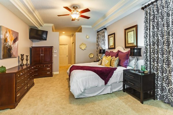 bedroom decorating ideas and designs Remodels Photos A.Clore Interiors Sanford Florida United States transitional-bedroom-001