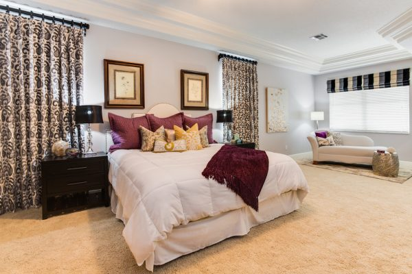 bedroom decorating ideas and designs Remodels Photos A.Clore Interiors Sanford Florida United States transitional-bedroom