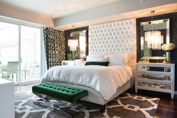 bedroom decorating ideas and designs Remodels Photos A.S.D. Interiors - Shirry Dolgin, Owner Burbank California contemporary-bedroom-001