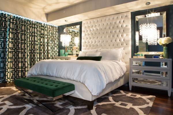 bedroom decorating ideas and designs Remodels Photos A.S.D. Interiors - Shirry Dolgin, Owner Burbank California contemporary-bedroom-003