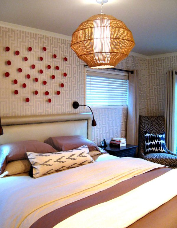 bedroom decorating ideas and designs Remodels Photos A.S.D. Interiors - Shirry Dolgin, Owner Burbank California eclectic-bedroom