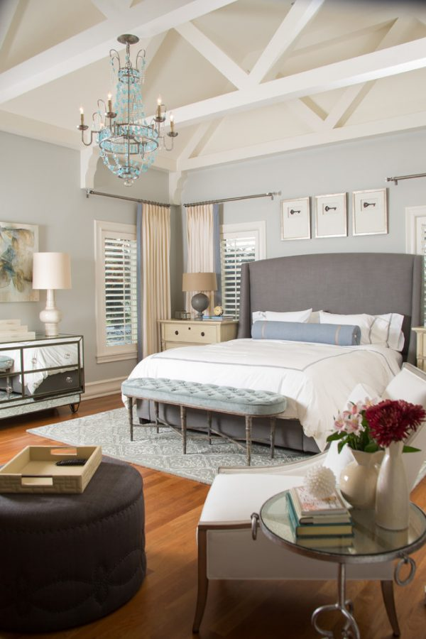 bedroom decorating ideas and designs Remodels Photos A.S.D. Interiors - Shirry Dolgin, Owner Burbank California transitional-bedroom-002