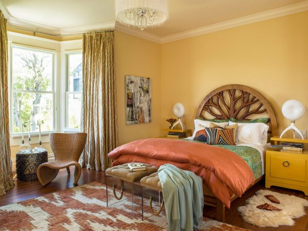 bedroom decorating ideas and designs Remodels Photos Adeeni Design Group San Francisco California United States eclectic-bedroom-001