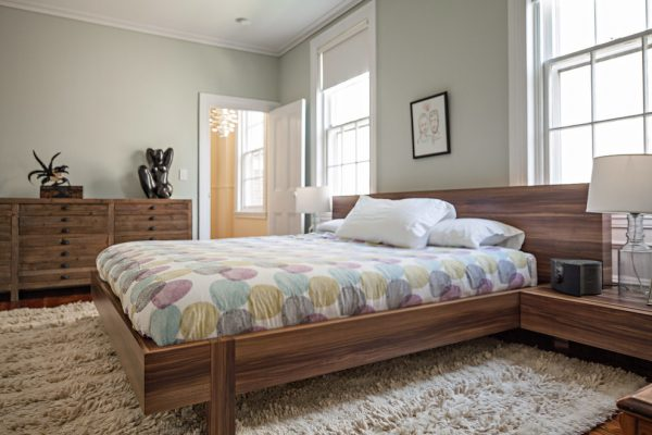 bedroom decorating ideas and designs Remodels Photos Amy Cuker, MBA, LEED AP Elkins Park Pennsylvania united states transitional-bedroom