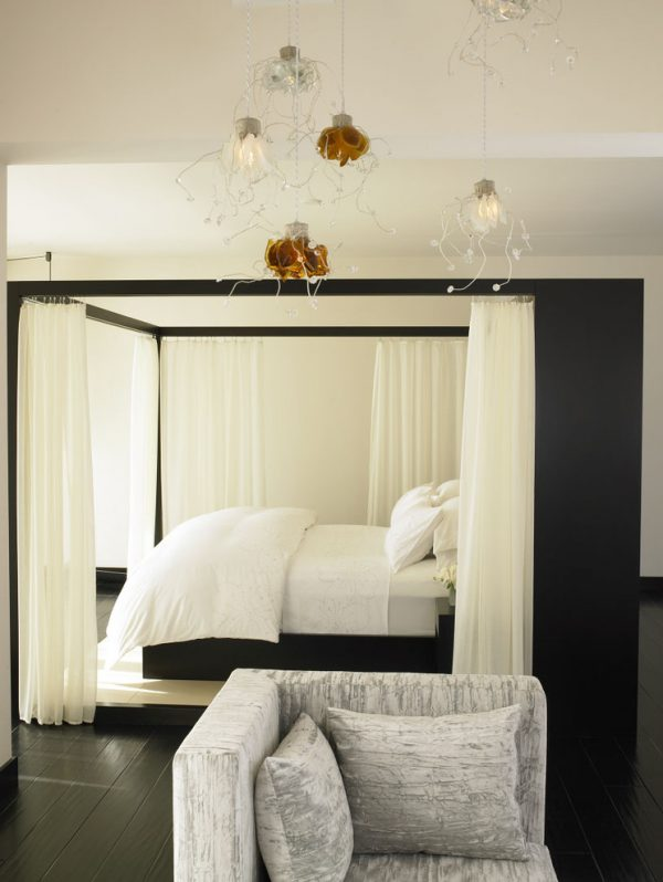 bedroom decorating ideas and designs Remodels Photos Amy Noel Design Del Mar California united states mediterranean-bedroom