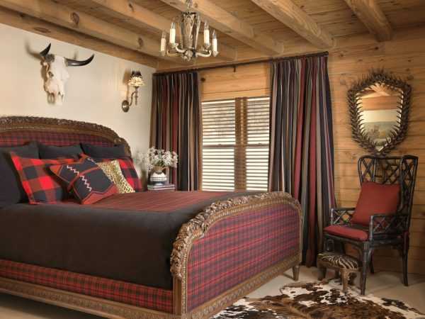 bedroom decorating ideas and designs Remodels Photos Amy Studebaker Design St. Louis Missouri United States rustic-bedroom