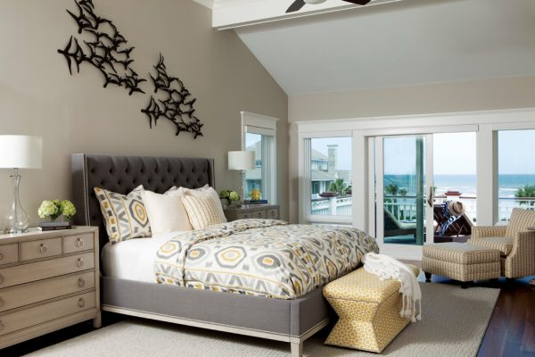 bedroom decorating ideas and designs Remodels Photos Amy Tyndall Design Wilmington, NC Carolina United States beach-style-bedroom-001