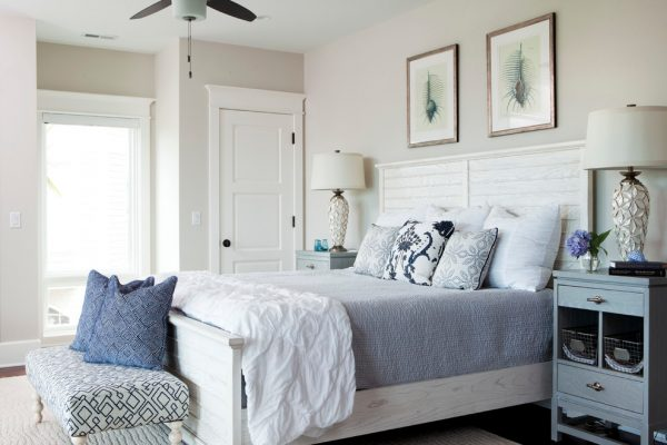 bedroom decorating ideas and designs Remodels Photos Amy Tyndall Design Wilmington, NC Carolina United States beach-style-bedroom-002