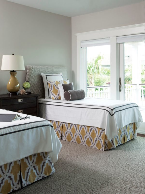 bedroom decorating ideas and designs Remodels Photos Amy Tyndall Design Wilmington, NC Carolina United States beach-style-bedroom-003